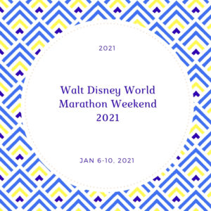Run Disney Marathon Weekend