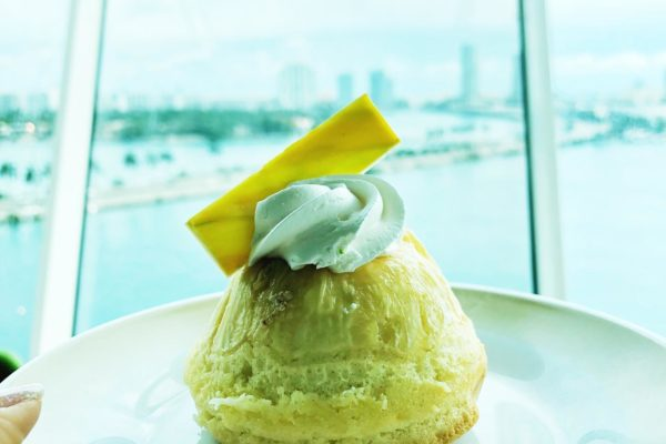 Pineapple Gluten Free and Sugar Free Cake from Royal Caribbean